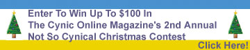 Win Up To $100 In The Cynic's Not So Cynical Christmas!